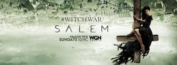 Salem Witch War (season 2) TV show on WGN America: ratings (cancel or renew?)
