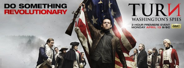 Turn: Washington's Spies TV show on AMC: ratings (cancel or renew?)