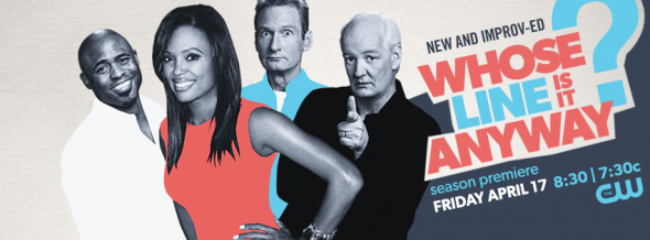 Whose Line Is It Anyway? TV show on CW: ratings (cancel or renew?)