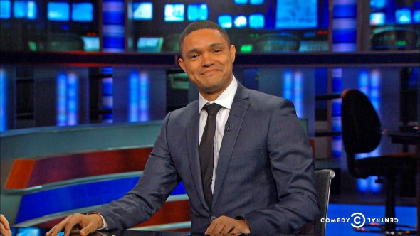 The Daily Show with Trevor Noah TV show on Comedy Central