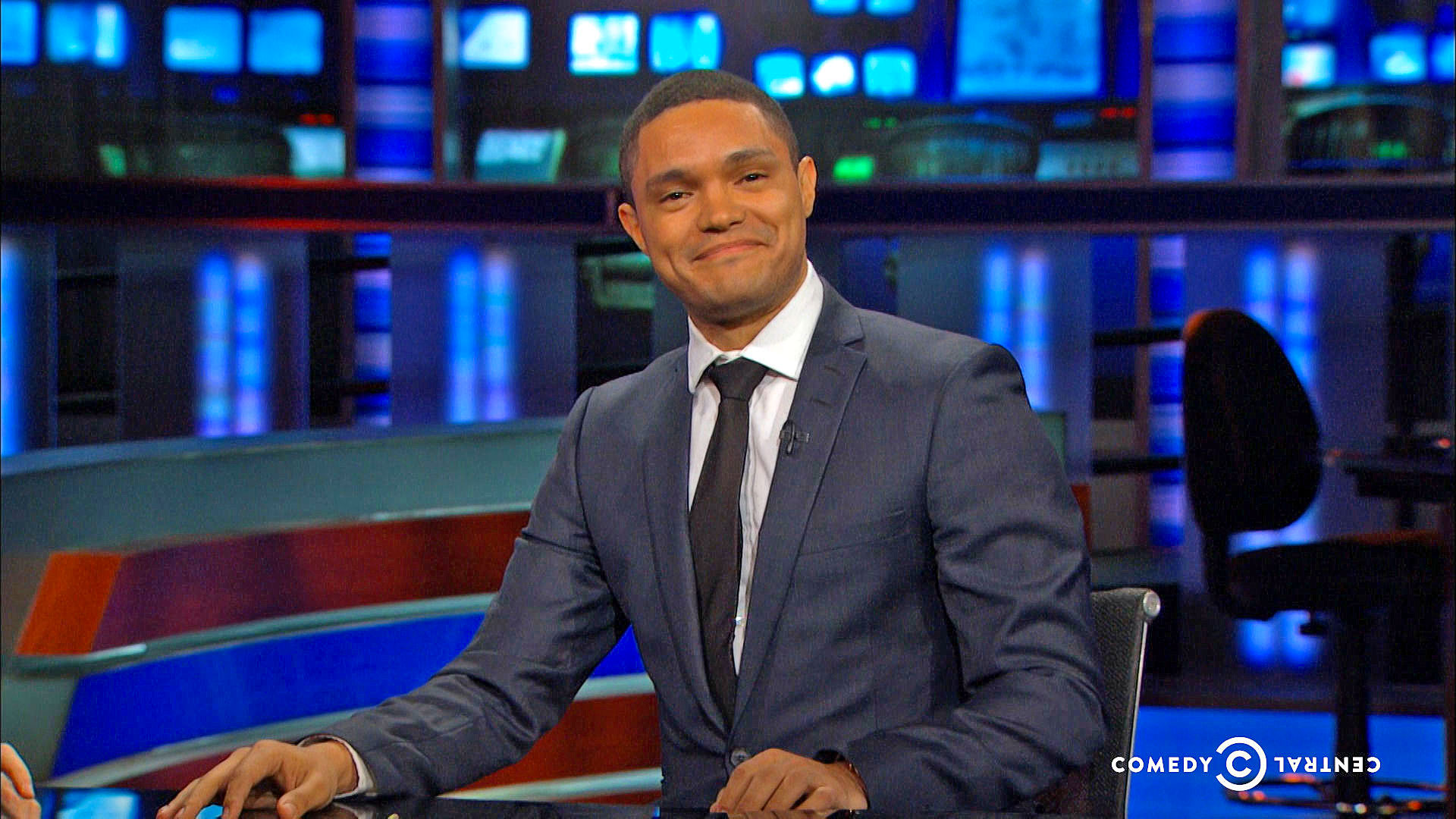 the daily show with trevor noah comedy central series