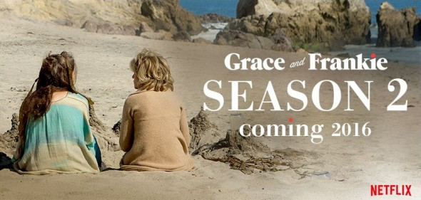 Grace and Frankie TV show on Netflix: season 2