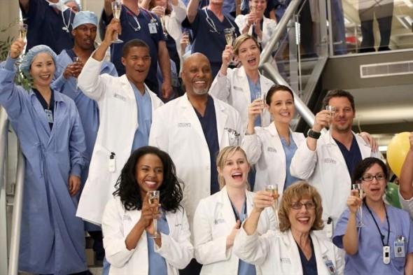 Grey's Anatomy TV show on ABC: season 12