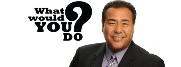 What Would You Do? Tv show on ABC: ratings (cancel or renew?)