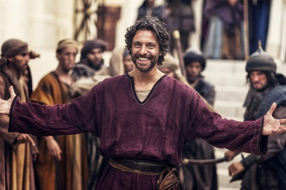 AD: The Bible Continues TV show on NBC: cancel or season 2?