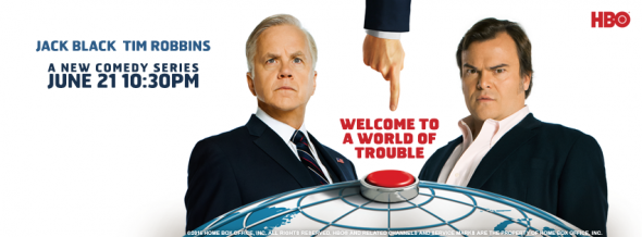 The Brink TV show on HBO: ratings (cancel or renew?)