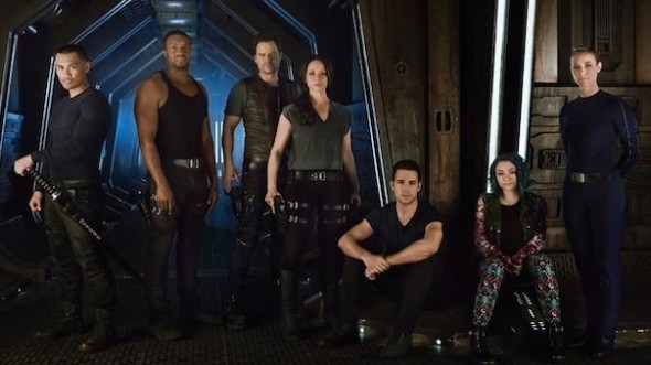 Dark Matter TV show on Syfy: canceled or renewed?