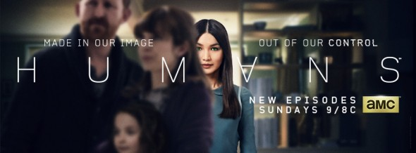 Humans TV show on AMC: ratings (cancel or renew?)