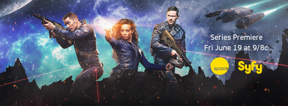 Killjoys TV show on Syfy: ratings (cancel or renew?))