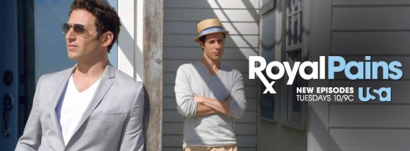 Royal Pains TV show on USA: ratings (cancel or renew?)