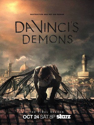 Da Vinci's Demons TV show on Starz: canceled, no season 4