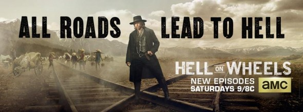 Hell on Wheels TV show on AMC: ratings (canceled)