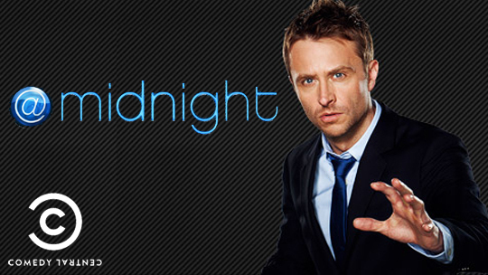 @midnight with Chris Hardwick TV show on Comedy central: season 3