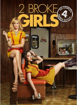 2 Broke Girls: season 4 on DVD