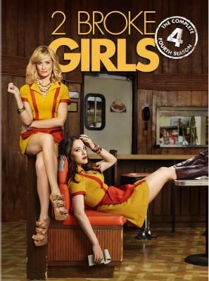 2 Broke Girls: season 4 on DVD
