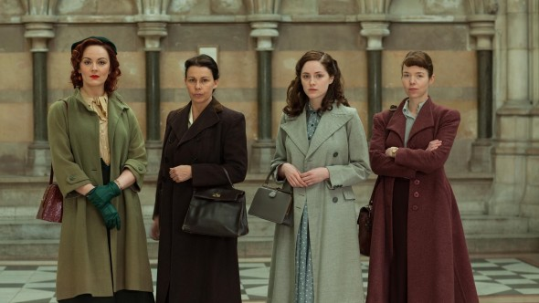 The Bletchley Circle TV show on PBS (canceled)