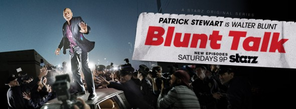 Blunt Talk TV show on Starz: ratings (cancel or renew?)