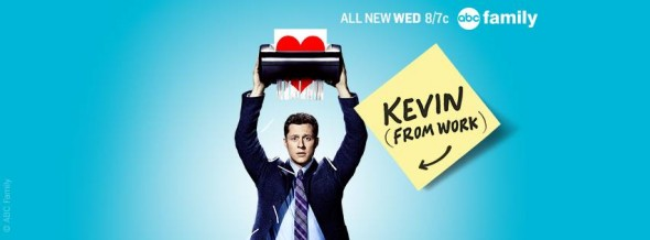 Kevin from Work TV show on ABC Family: ratings (cancel or renew?)