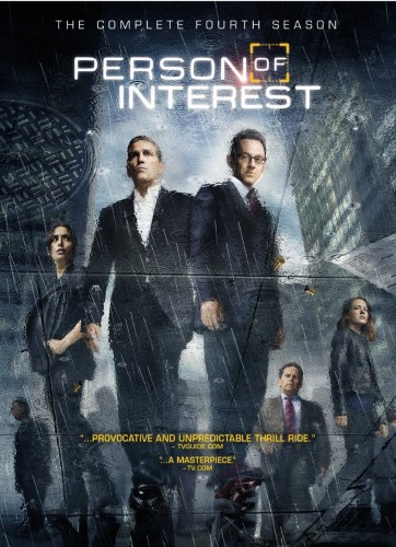 Person of Interest TV show on CBS: season 4 on DVD
