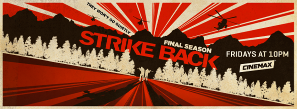 Strike Back TV show on Cinemax: ratings (ending)