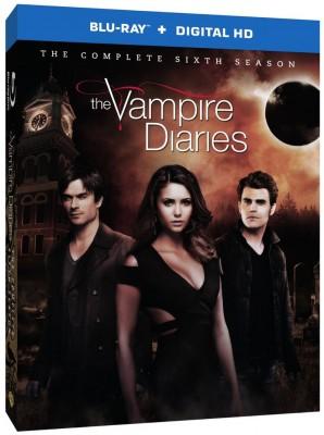Season 6 of The Vampire Diaries TV show on Blu-ray