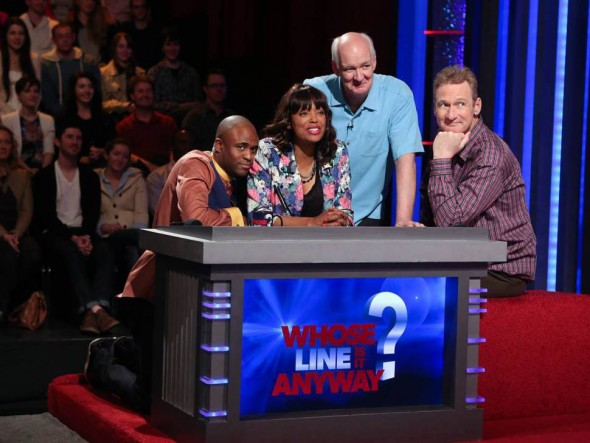 Whose Line Is It Anyway? TV show on CW: season  12