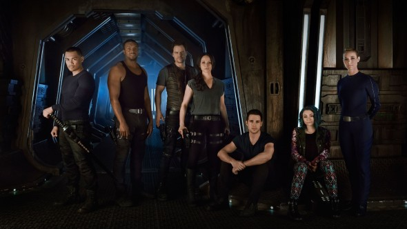 Dark Matter TV show on Syfy: season 2