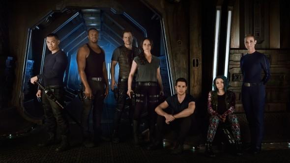 Dark Matter TV show on Syfy: season 2