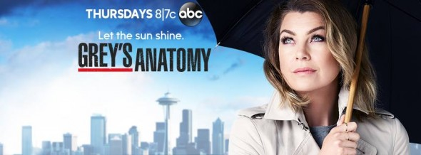 Grey's Anatomy TV show on ABC: ratings (cancel or renew?)