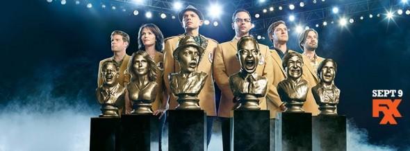 The League TV show on FXX: final season ratings