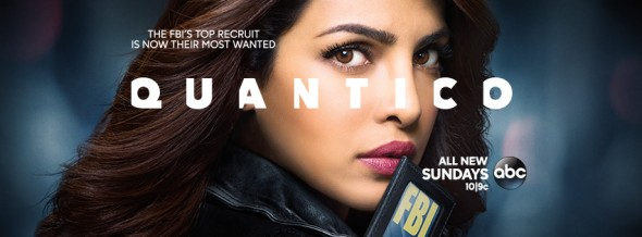 Quantico TV show on ABC: ratings (cancel or renew?)