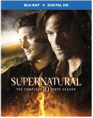 Supernatural TV show on CW: season 10 on Blu-ray