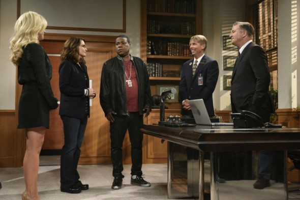 30 Rock TV show reunion on Saturday Night Live