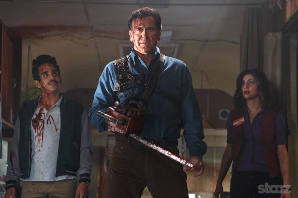 Ash Vs Evil Dead TV show on Stars: season 2 renewal