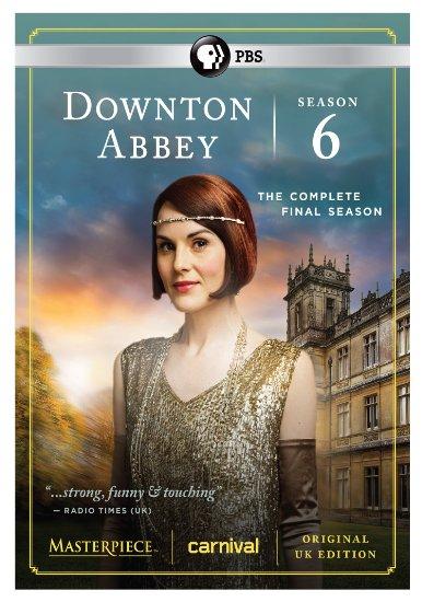 Downton Abbey: Final Season Six Cover Art - canceled TV shows - TV ...