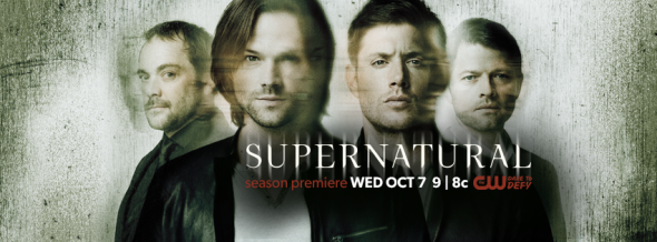 Supernatural TV show on CW: season 11 renewal