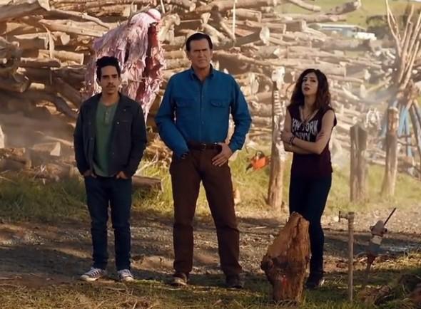 Ash Vs Evil Dead TV show on Starz (canceled or renewed?)