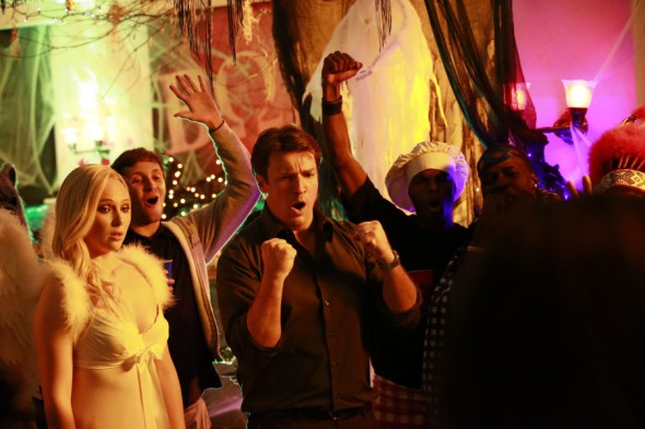 Castle TV show on ABC: ratings (cancel or renew?)