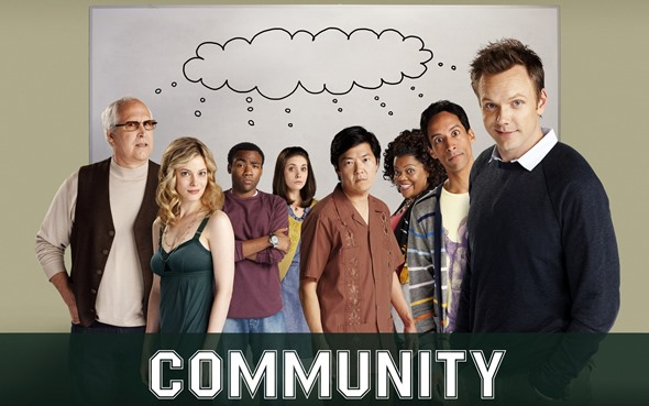 Community TV show on NBC and Yahoo!: canceled, no season seven; Community reunion on Dr. Ken TV show on ABC