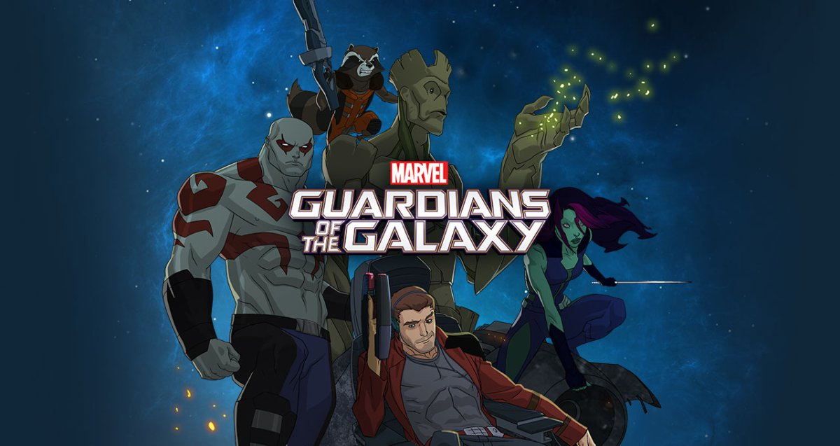 Guardians Of The Galaxy Serie