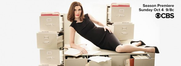 The Good Wife TV show on CBS: ratings (cancel or renew?)