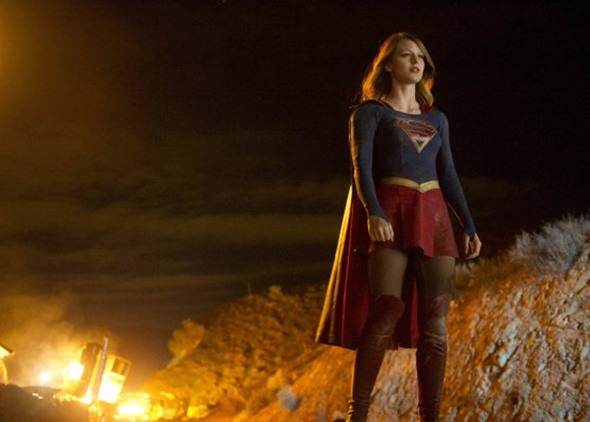 Supergirl TV show on The CW: season 2 (canceled or renewed?) CBS