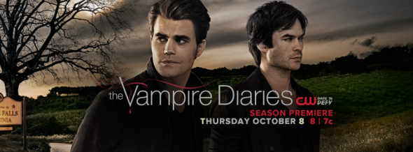 Vampire Diaries TV show on The CW: ratings (cancel or renew?)