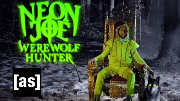 Neon Joe Werewolf Hunter TV show on Cartoon Network Adult Swim: canceled or renewed? season one series premiere