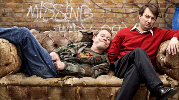 Peep Show TV show on Channel 4: final season/series nine premiere; no season/series ten