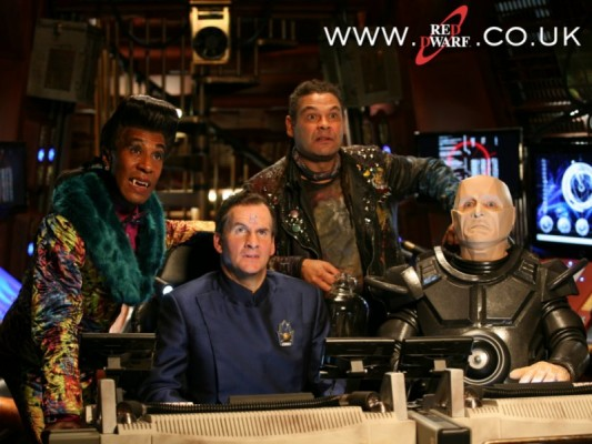 Red Dwarf TV show on UKTV Dave channel: season 11 series XI (canceled or renewed?).