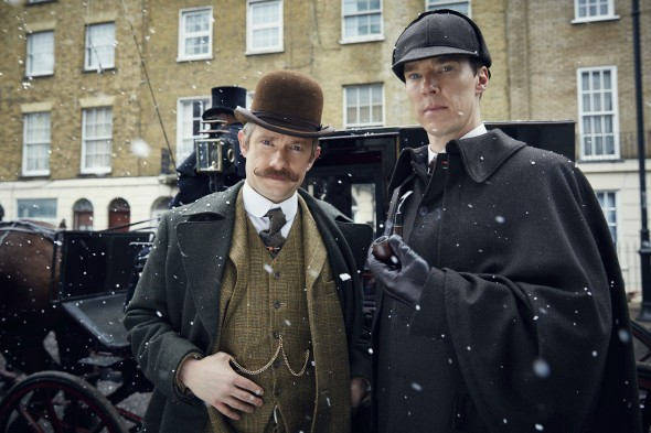 Sherlock TV show on BBC One and PBS; Sherlock: The Abominable Bride, Victorian special episode