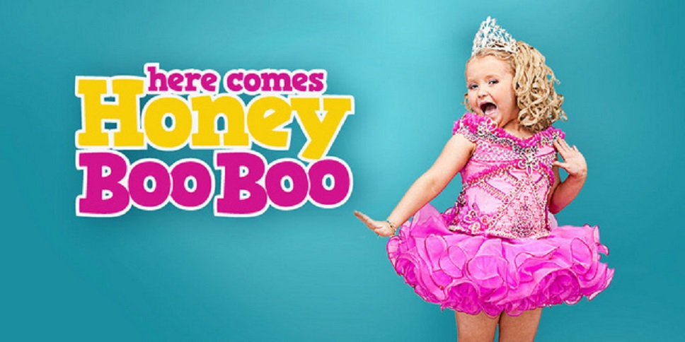 a critique of the television show here comes honey boo boo In the middle of our here comes honey boo boo  the show got canceled, but honey boo boo did appear in a  maybe even a critique of the culture.
