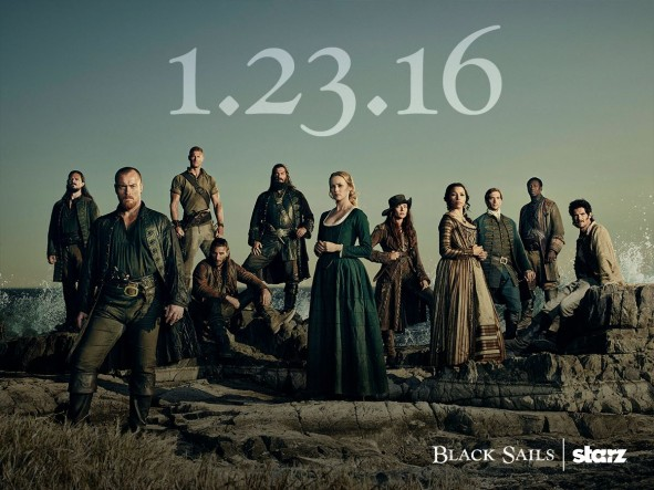 Black Sails TV show on Starz: season 3 (cancel or renew?)