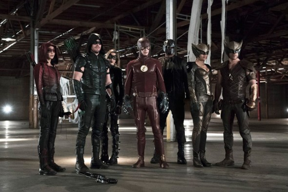Flash Arrow crossover DC's Legends of Tomorrow